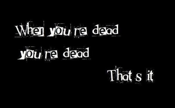 Death Quote Picture Quote #1