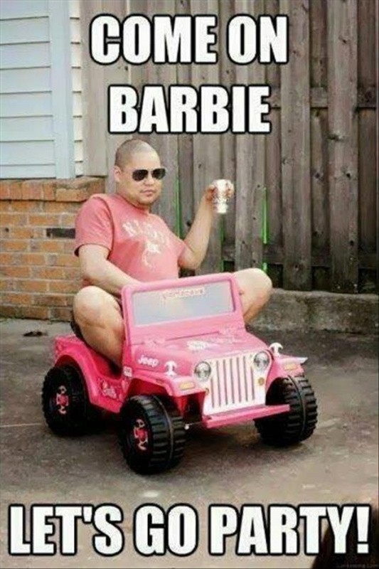 Come on barbie, let's go party Picture Quote #1