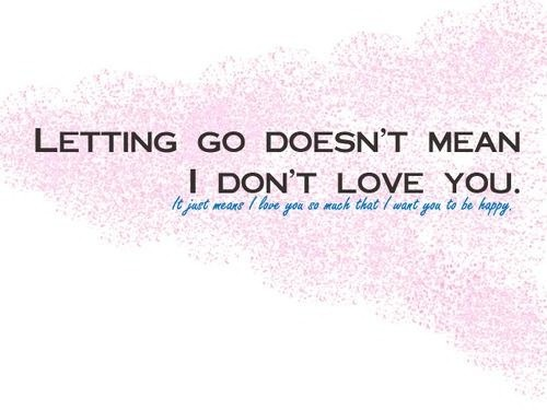 Letting Go Quote Picture Quote #1