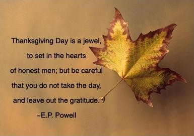 Thanksgiving Quote Picture Quote #1
