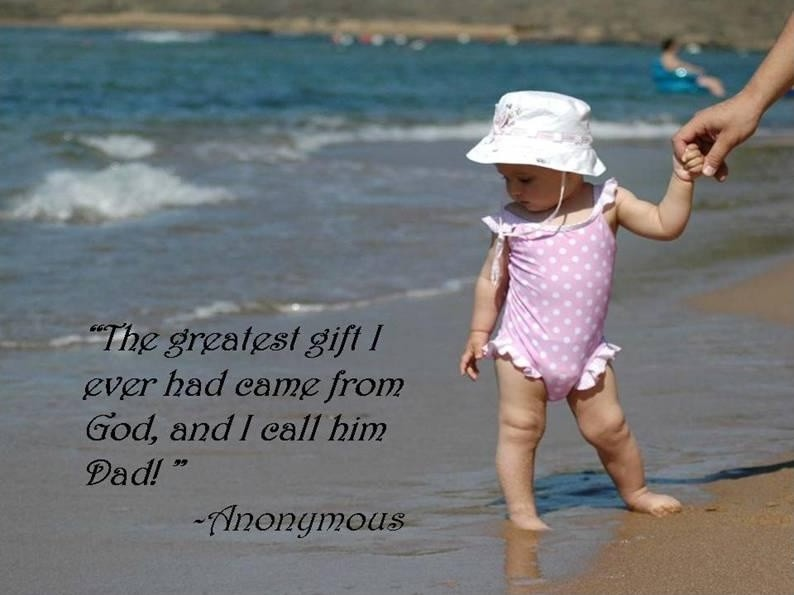 Fathers Day Quote Picture Quote #1