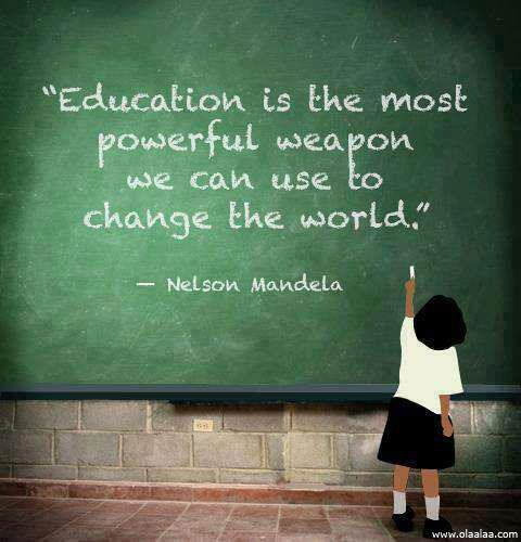 Education Quote Picture Quote #1