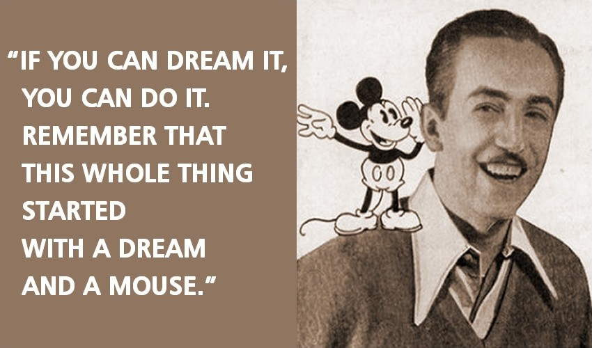Walt Disney Quote Brilliant Walt Disney Quote  Quote Number 542339  Picture Quotes