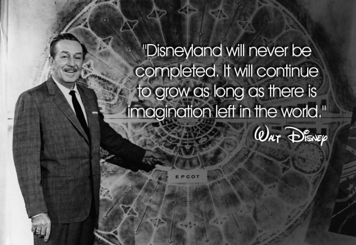 Walt Disney Quote Picture Quote #1