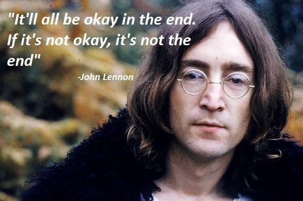 John Lennon Quote Picture Quote #1
