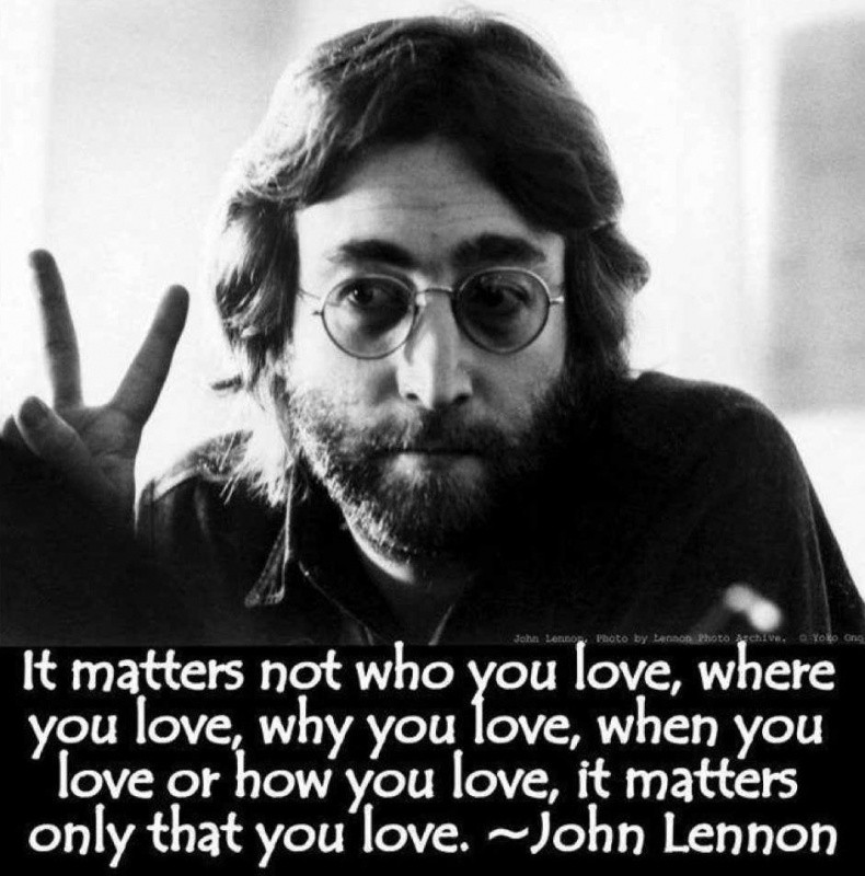 John Lennon Quote Picture Quote #1