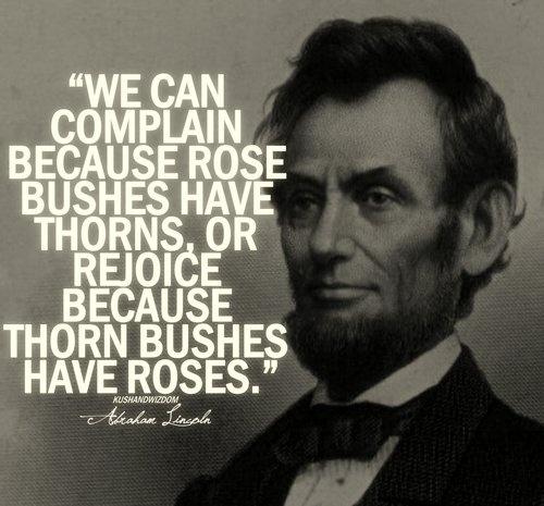 Abraham Lincoln Quote Picture Quote #1
