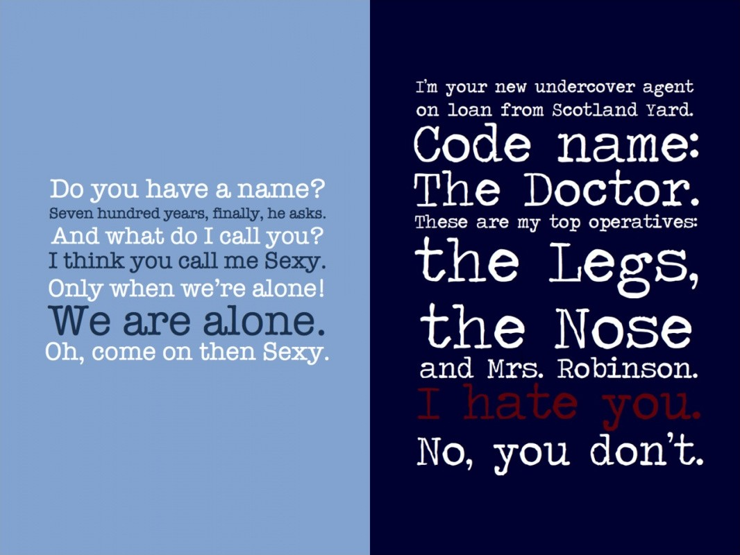 Doctor Who Quote Picture Quote #1