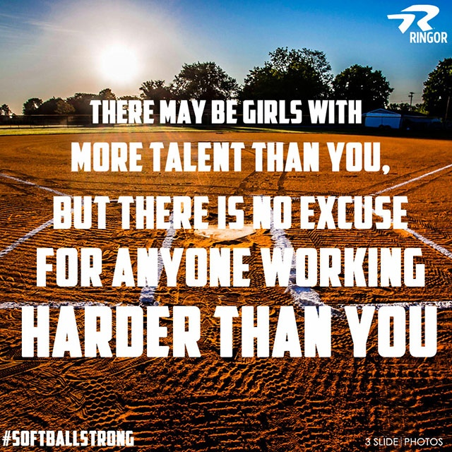Softball Quote Picture Quote #1