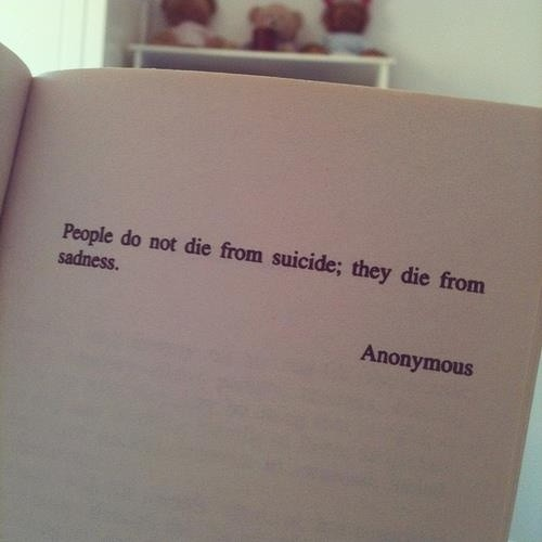 Suicide Quote Picture Quote #1