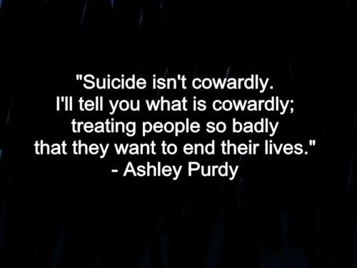 Quotes About Suicide Suicide Quote  Quote Number 542805  Picture Quotes