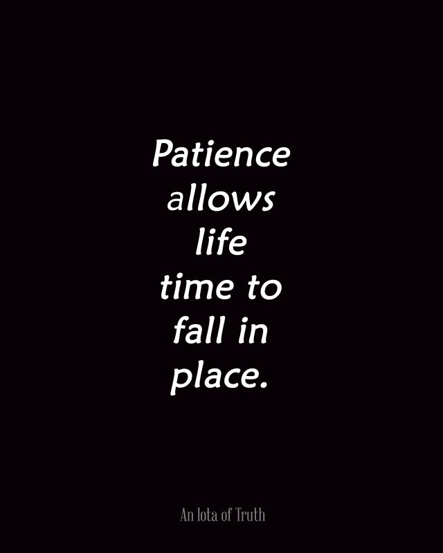 Patience Quote Picture Quote #1