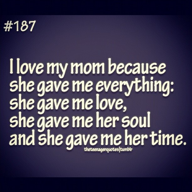 Mom Quote Picture Quote #1