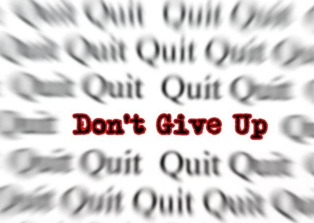 Never Give Up Quote Picture Quote #1