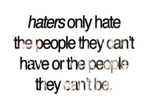 Hater Quotes Hater Sayings Hater Picture Quotes