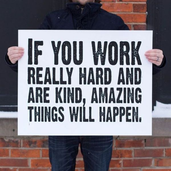 Hard Work Quote Picture Quote #1