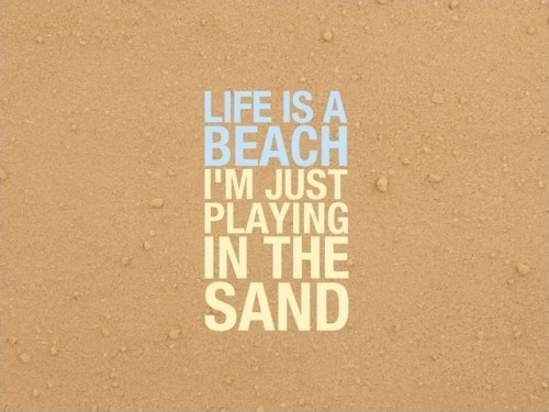 Beach Quote Picture Quote #1