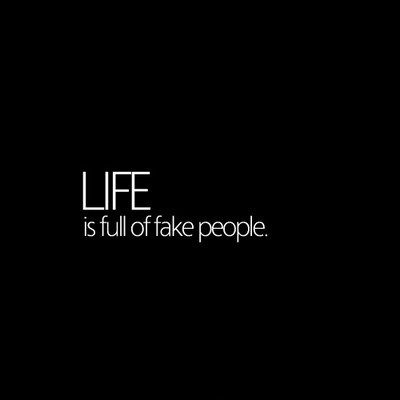 Fake People Quote Picture Quote #1