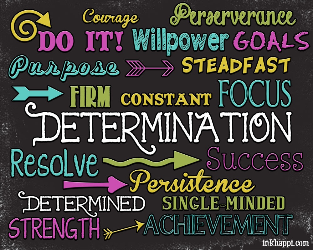 Determination Quote Picture Quote #1