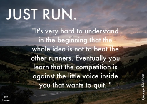 Running Quote Picture Quote #1