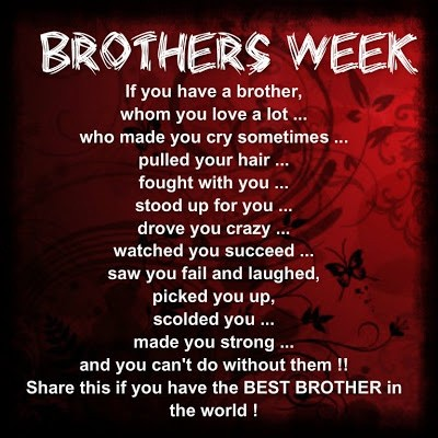 Brother Quote Picture Quote #1