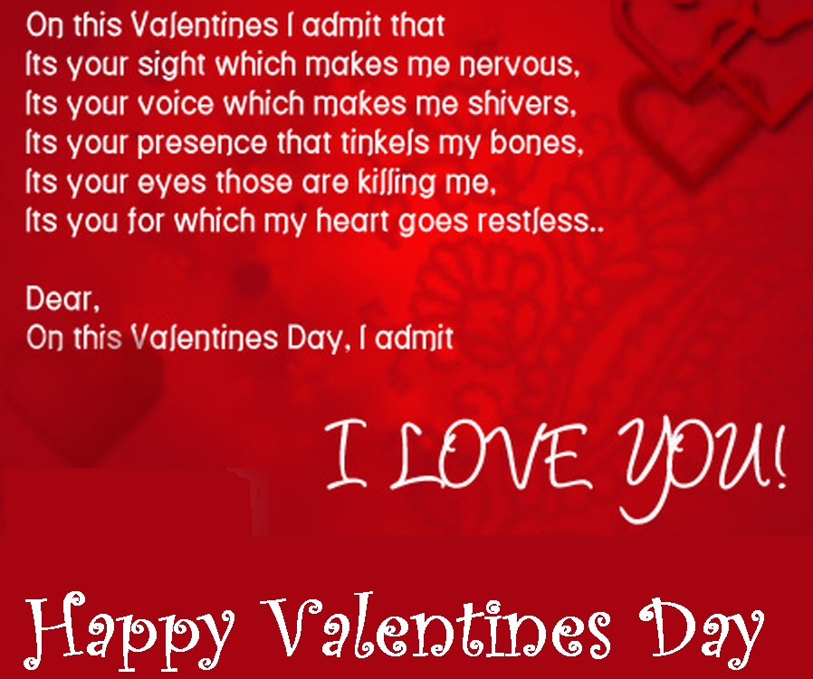Valentines Quotes For Him (17 Picture Quotes)