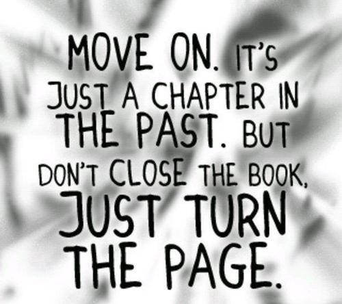 Move On Quote Picture Quote #1