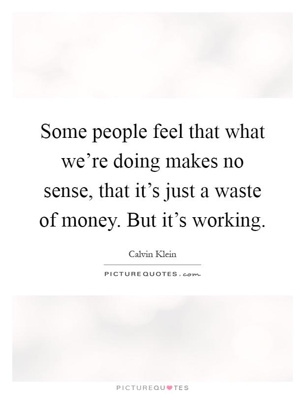 wizard money makes no sense