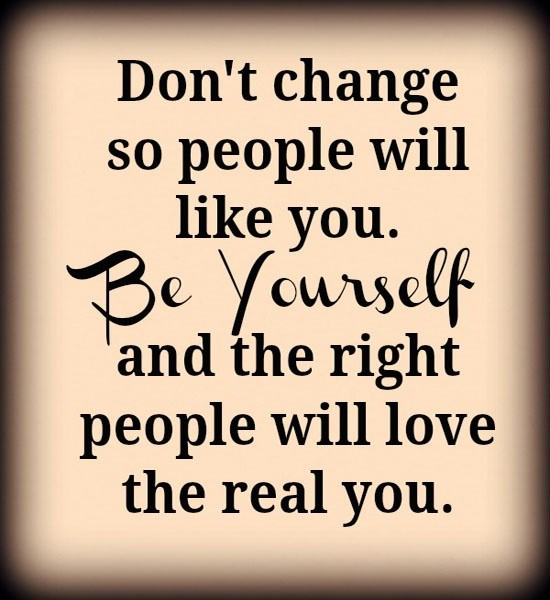 Be Yourself Quote | Quote Number 543685 | Picture Quotes