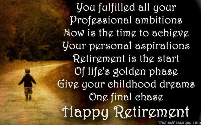 Retirement Quote Picture Quote #1