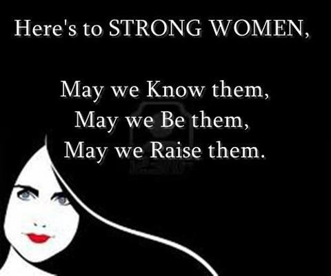 Strong Women Quote Picture Quote #1