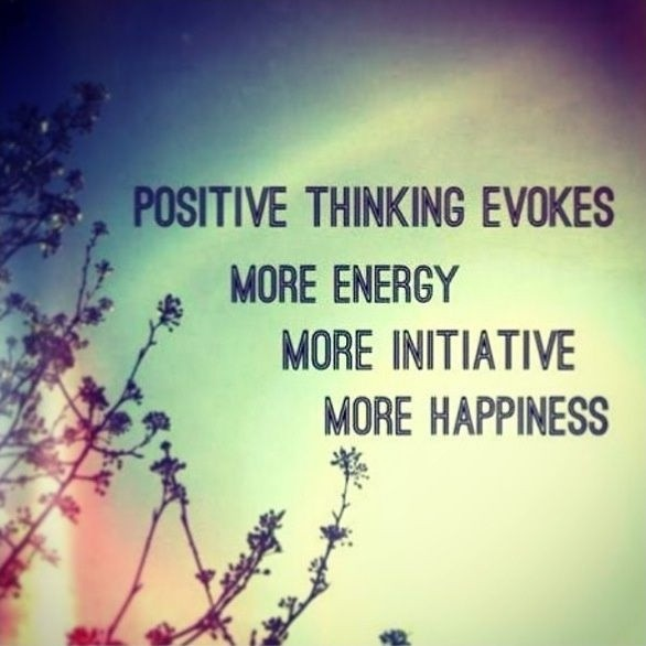 Positive Thinking Quote Picture Quote #1