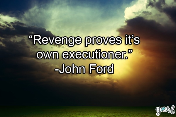 Revenge Quote Picture Quote #1