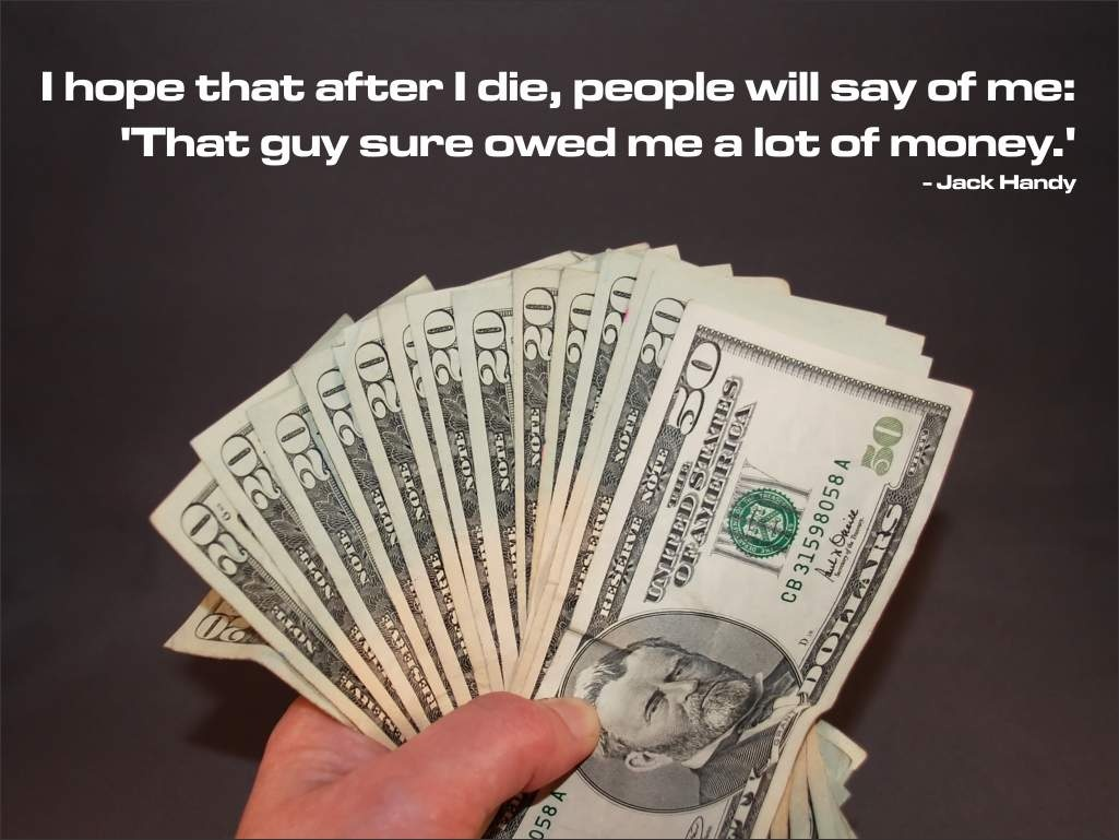 Money Quote Picture Quote #1