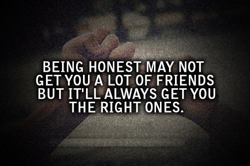 Honesty Quote Picture Quote #1