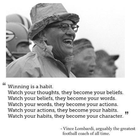 Vince Lombardi Quote Picture Quote #1