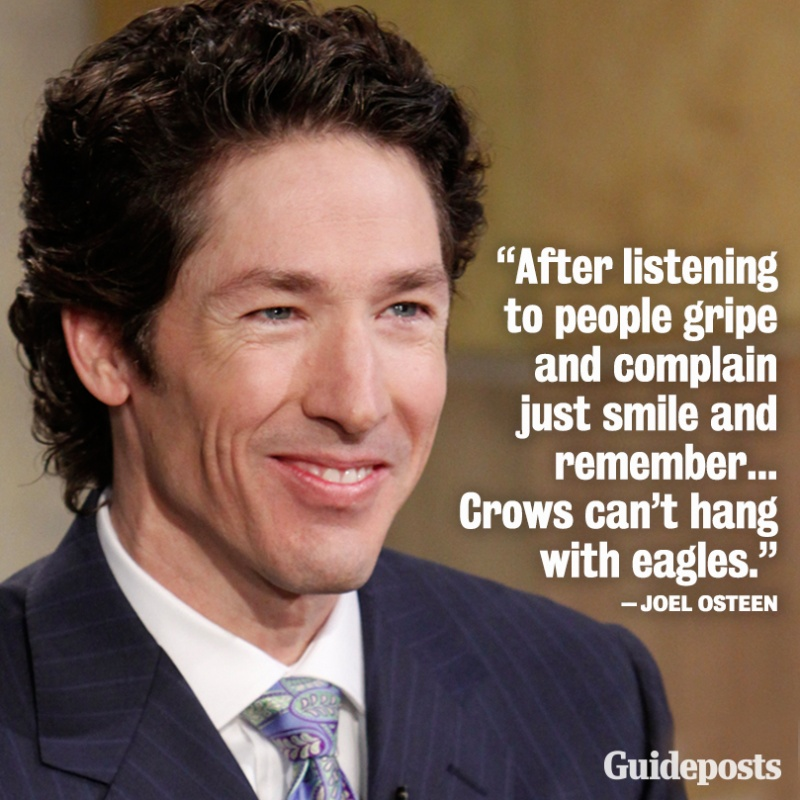 Joel Osteen Quote Picture Quote #1