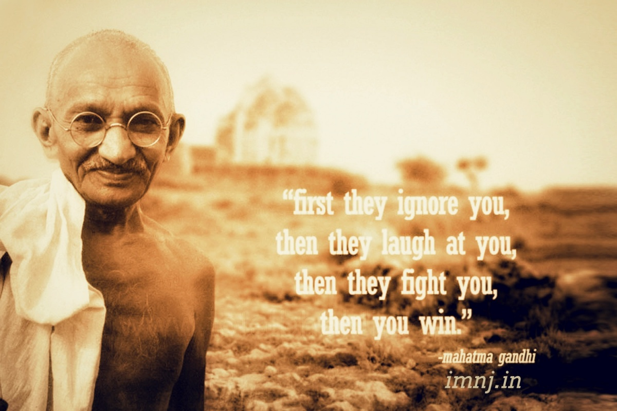 Famous Quotes Famous Quotesgandhi 4 Picture Quotes