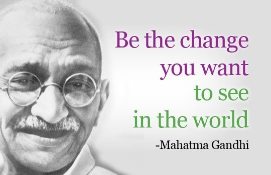Image result for quote mahatma gandhi