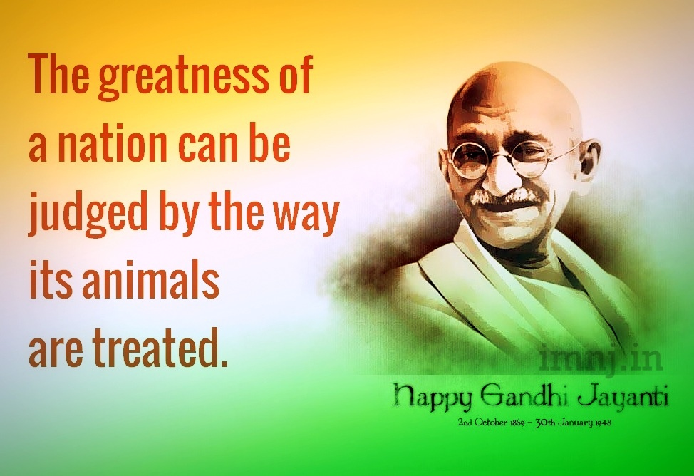 Mahatma Gandhi Quote Picture Quote #1