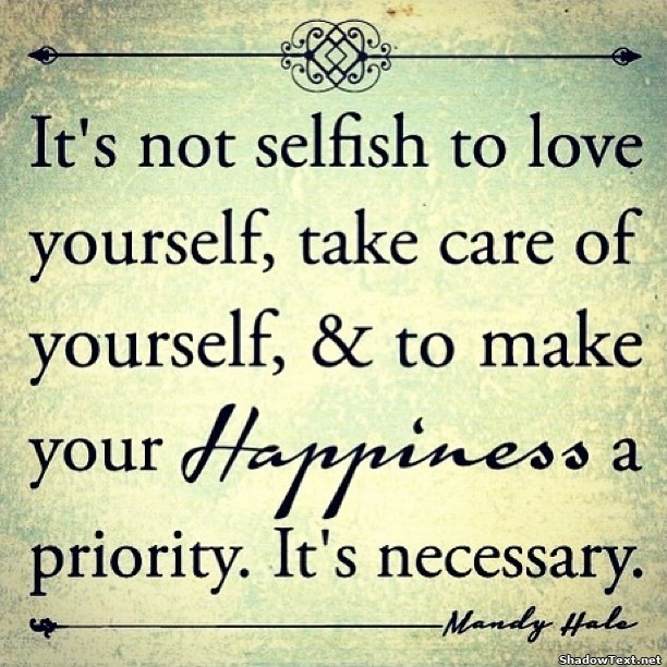 Selfish Quote Picture Quote #1