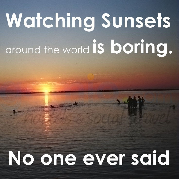 sunset and friendship quotes