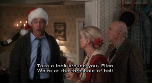 Lovely Christmas Vacation Quote Picture Quote #1
