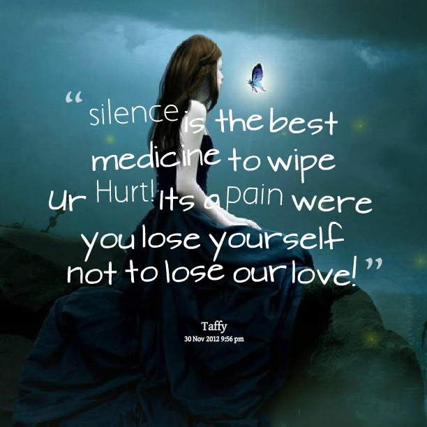 Silence Quote Picture Quote #1