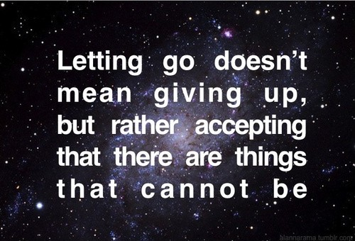 Giving Up Quote Picture Quote #1