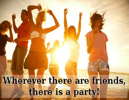 Party Quote Picture Quote #1