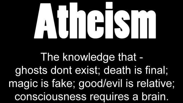 Atheist Quote Picture Quote #1