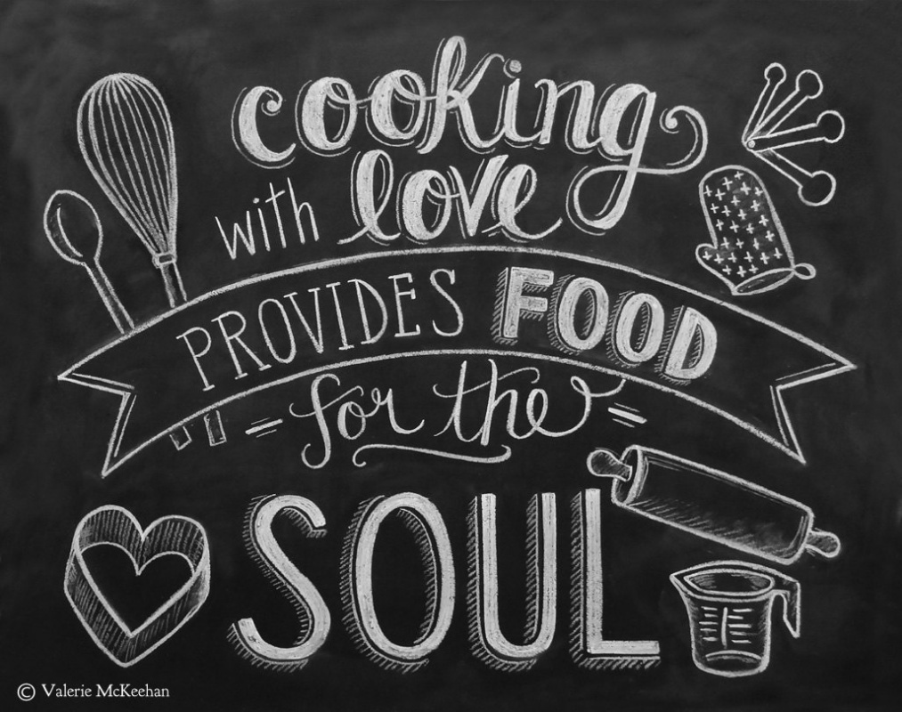 Food quotes food sayings food picture quotes for Kitchen quotation