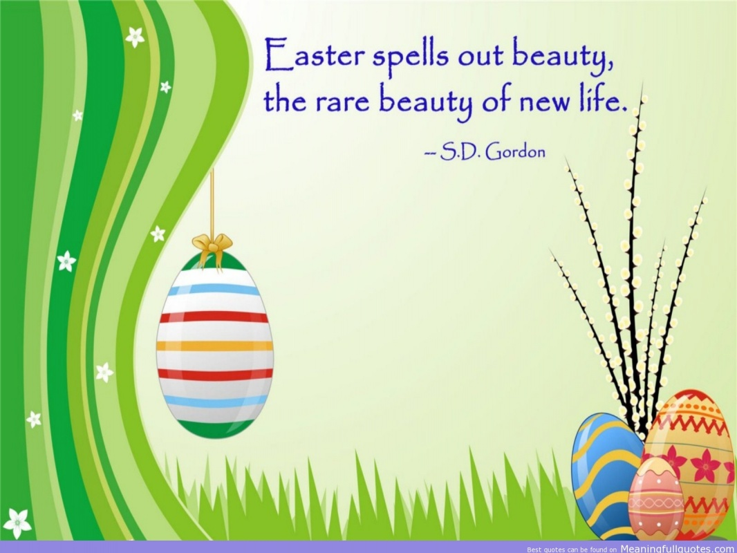 Easter Quote Picture Quote #1