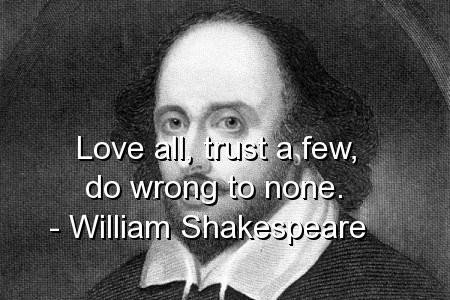 William Shakespeare Quote Picture Quote #1